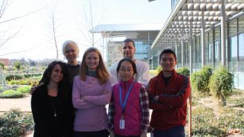 The beginning group of the Barile Lab (Nov 2011)