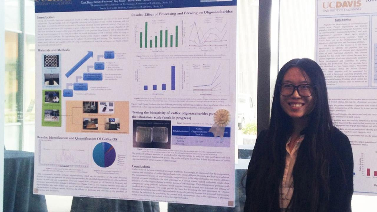 Barile's lab member wins 3rd place at RMI poster competition