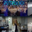Shots of the Barile lab members featured in the Petrolio: DNA Revolution documentary